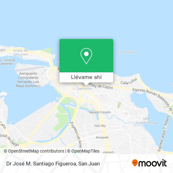 Mapa de Dr José M. Santiago Figueroa