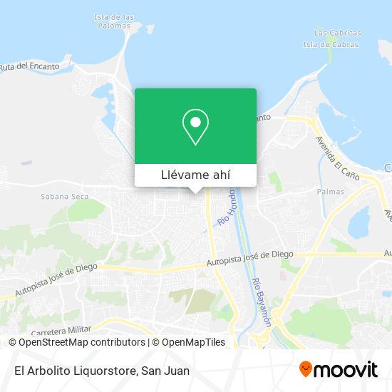 Mapa de El Arbolito Liquorstore