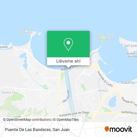 Mapa de Puente De Las Banderas