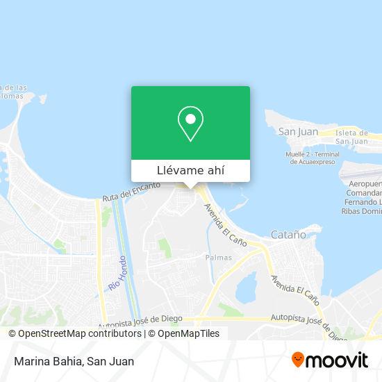 Mapa de Marina Bahia