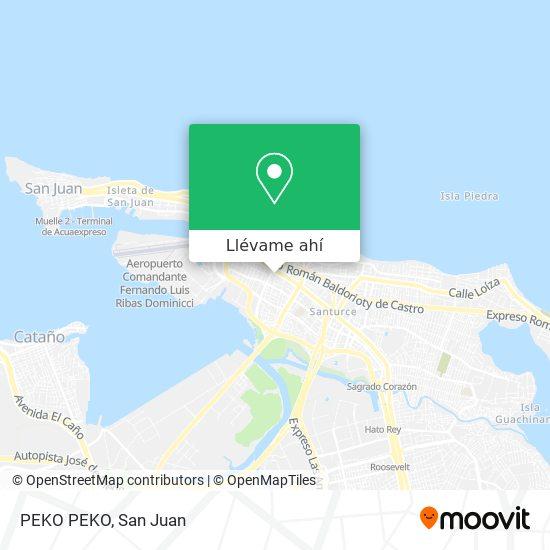 Mapa de PEKO PEKO