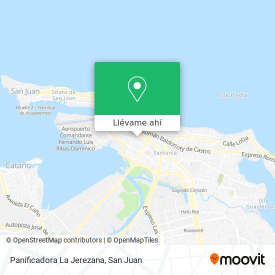 Mapa de Panificadora La Jerezana