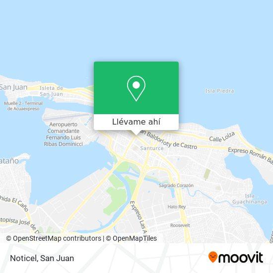 Mapa de Noticel
