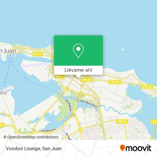 Mapa de Voodoo Lounge