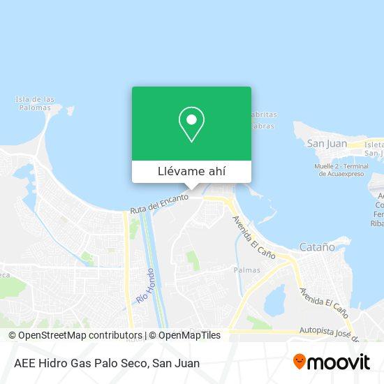 Mapa de AEE Hidro Gas Palo Seco
