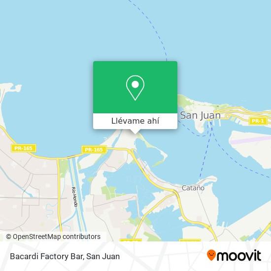 Mapa de Bacardi Factory Bar