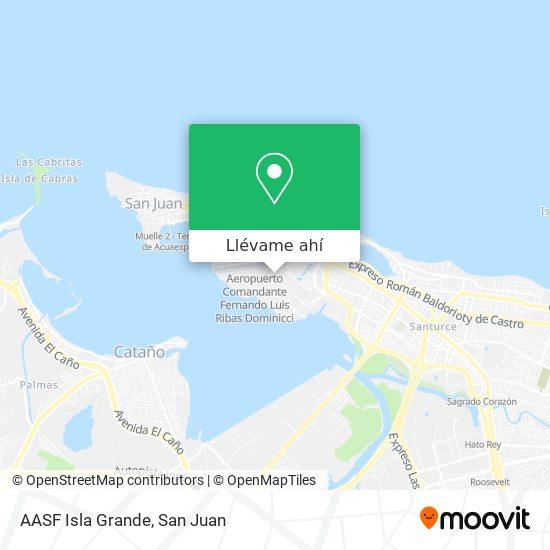 Mapa de AASF Isla Grande
