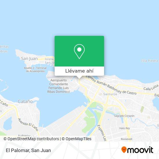 Mapa de El Palomar