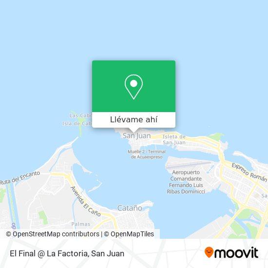 Mapa de El Final @ La Factoria