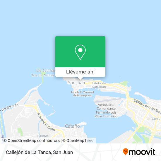 Mapa de Callejón de La Tanca