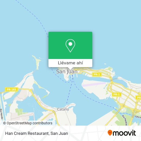 Mapa de Han Cream Restaurant