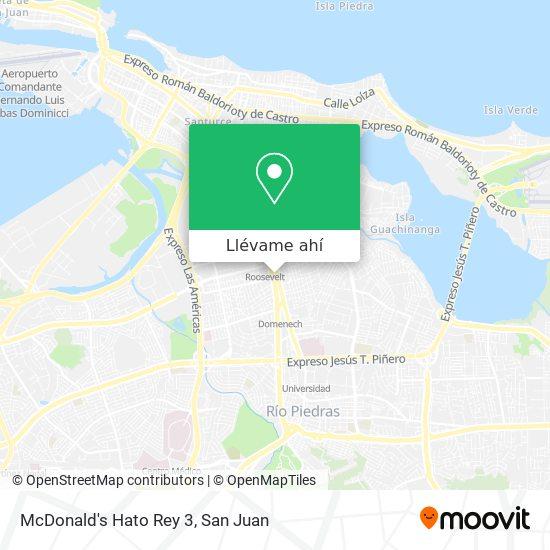 Mapa de McDonald's Hato Rey 3