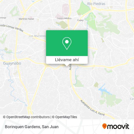 Mapa de Borinquen Gardens