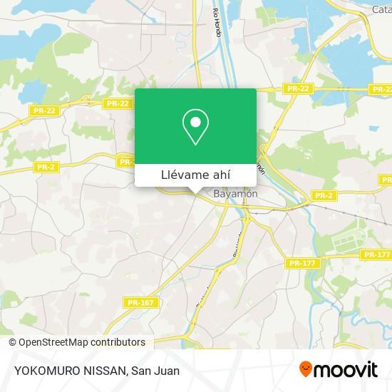Mapa de YOKOMURO NISSAN