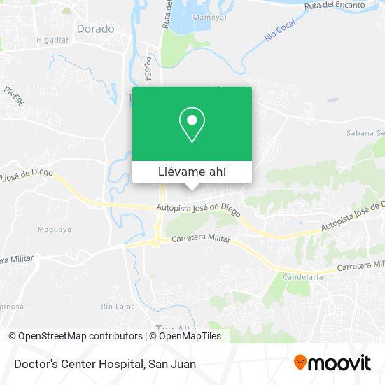 Mapa de Doctor's Center Hospital