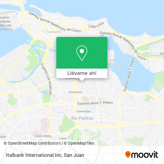 Mapa de Italbank International Inc