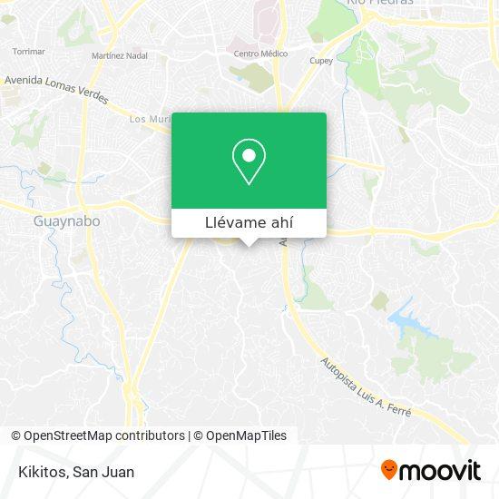 Mapa de Kikitos