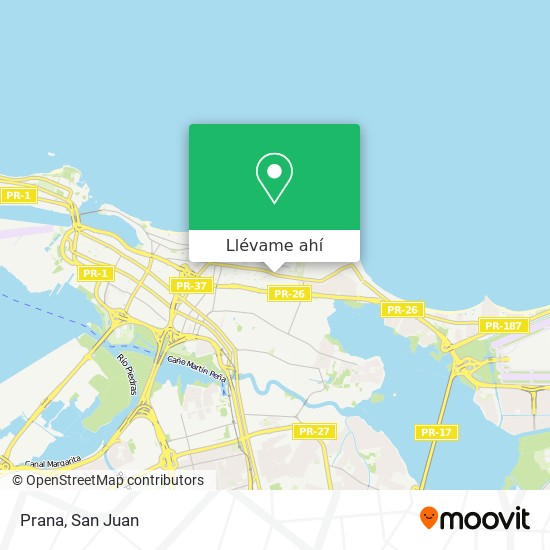 Mapa de Prana