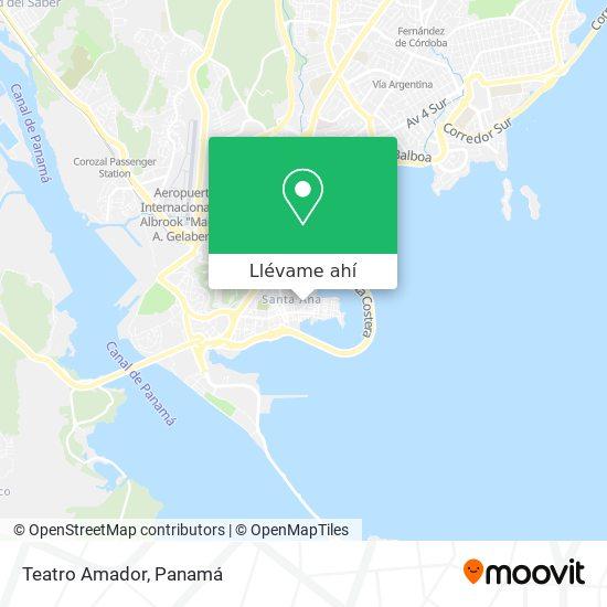 Mapa de Teatro Amador