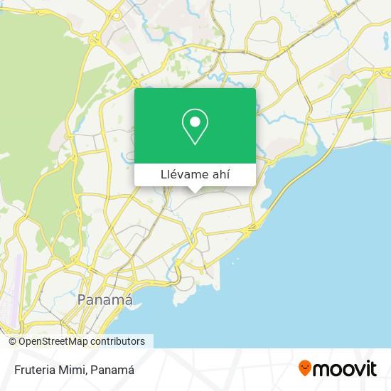 Mapa de Fruteria Mimi