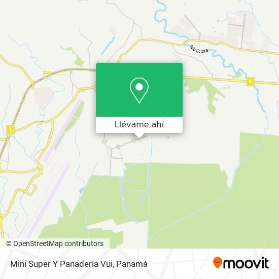 Mapa de Mini Super Y Panadería Vui