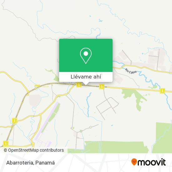 Mapa de Abarroteria