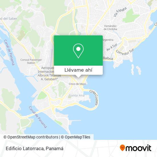 Mapa de Edificio Latorraca