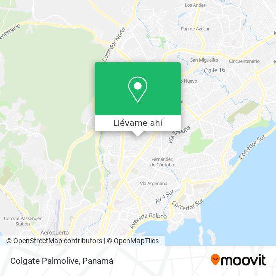 Mapa de Colgate Palmolive