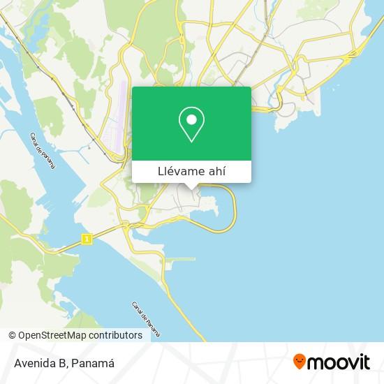 Mapa de Avenida B