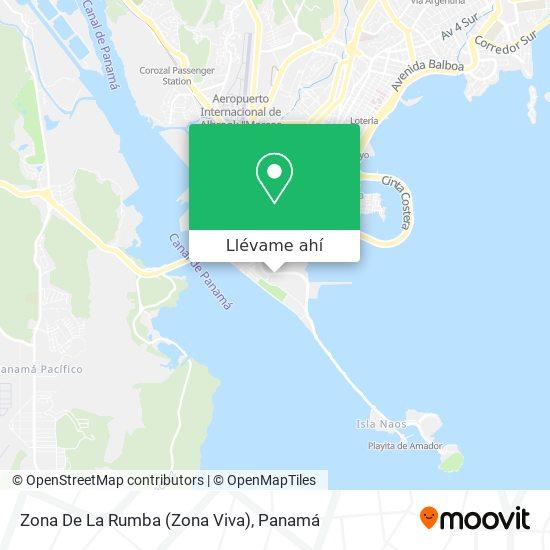 Mapa de Zona De La Rumba (Zona Viva)
