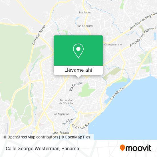 Mapa de Calle George Westerman