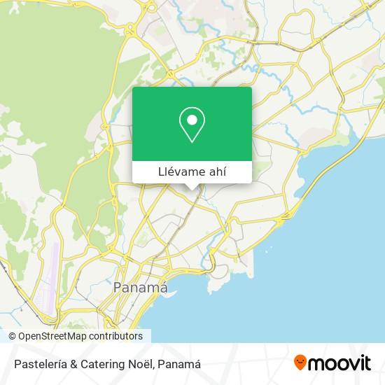 Mapa de Pastelería & Catering Noël