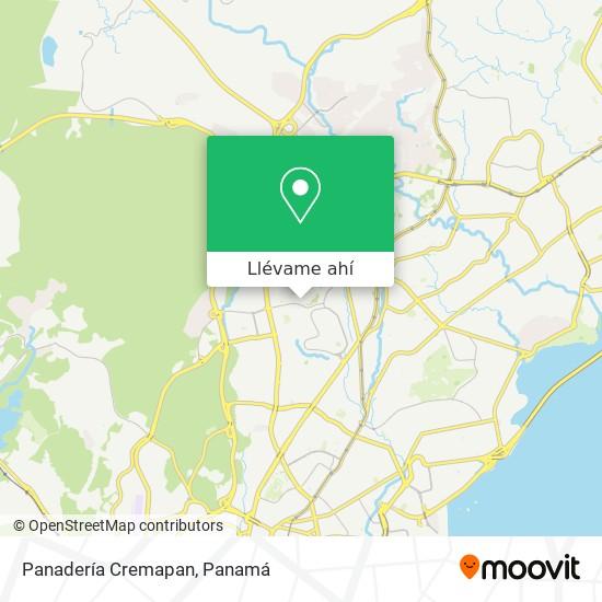 Mapa de Panadería Cremapan