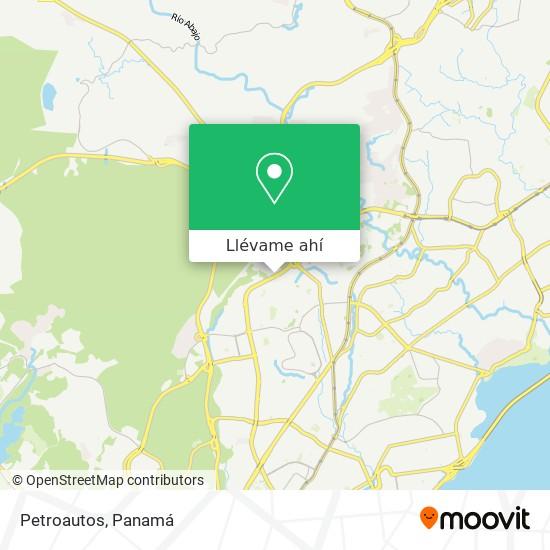 Mapa de Petroautos
