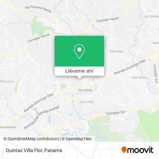 Mapa de Quintas Villa Flor