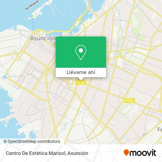 Mapa de Centro De Estética Marisol