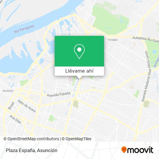 Mapa de Plaza España