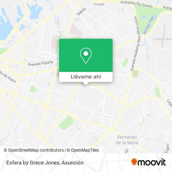 Mapa de Esfera by Grece Jones
