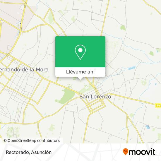 Mapa de Rectorado