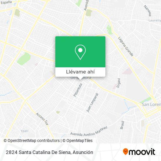 Mapa de 2824 Santa Catalina De Siena