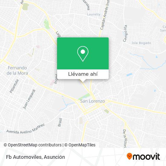 Mapa de Fb Automoviles