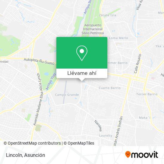 Mapa de Lincoln