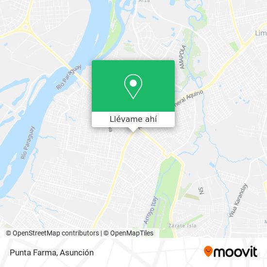 Mapa de Punta Farma