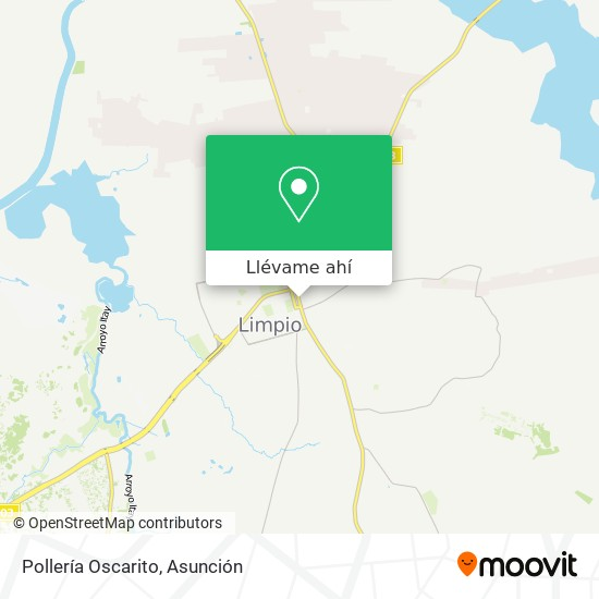 Mapa de Pollería Oscarito