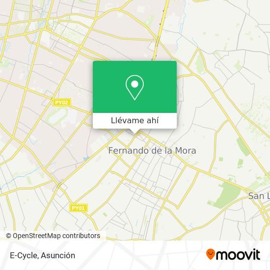 Mapa de E-Cycle