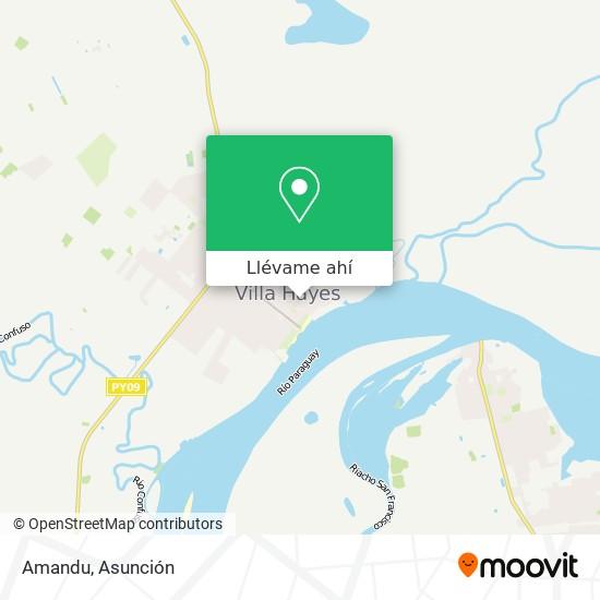 Mapa de Amandu