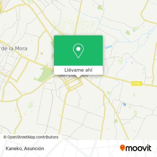 Mapa de Kaneko
