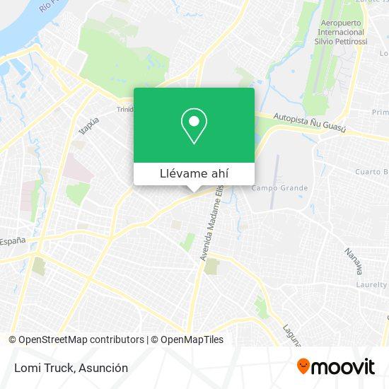 Mapa de Lomi Truck