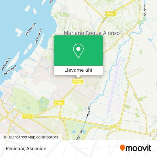 Mapa de Recinpar