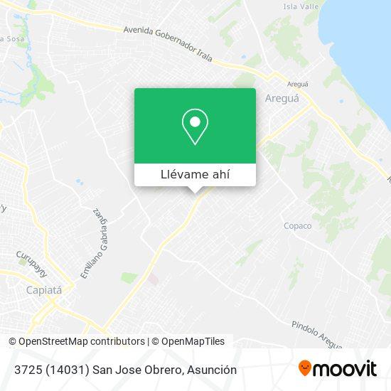 Mapa de 3725 (14031) San Jose Obrero